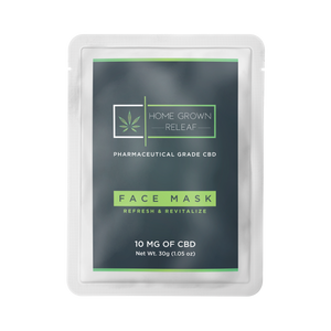 CBD Face Mask 50% off at checkout