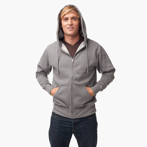 Independent Lightweight Zip Hoodie