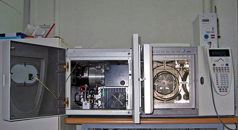 Mass Spectrometer Paired with Gas Chromatograph