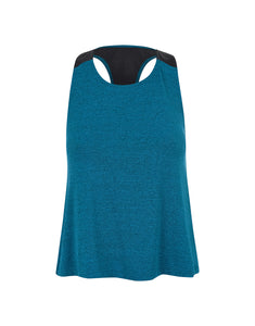 Regata T Cropped Basic Color Azul
