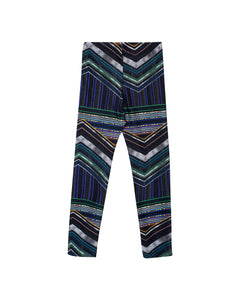 CALÇA LEGGING KIDS BASIC ESTAMPADA - STRIPES