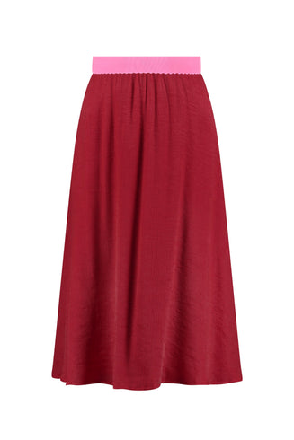 SKIRT - Scarlet Red