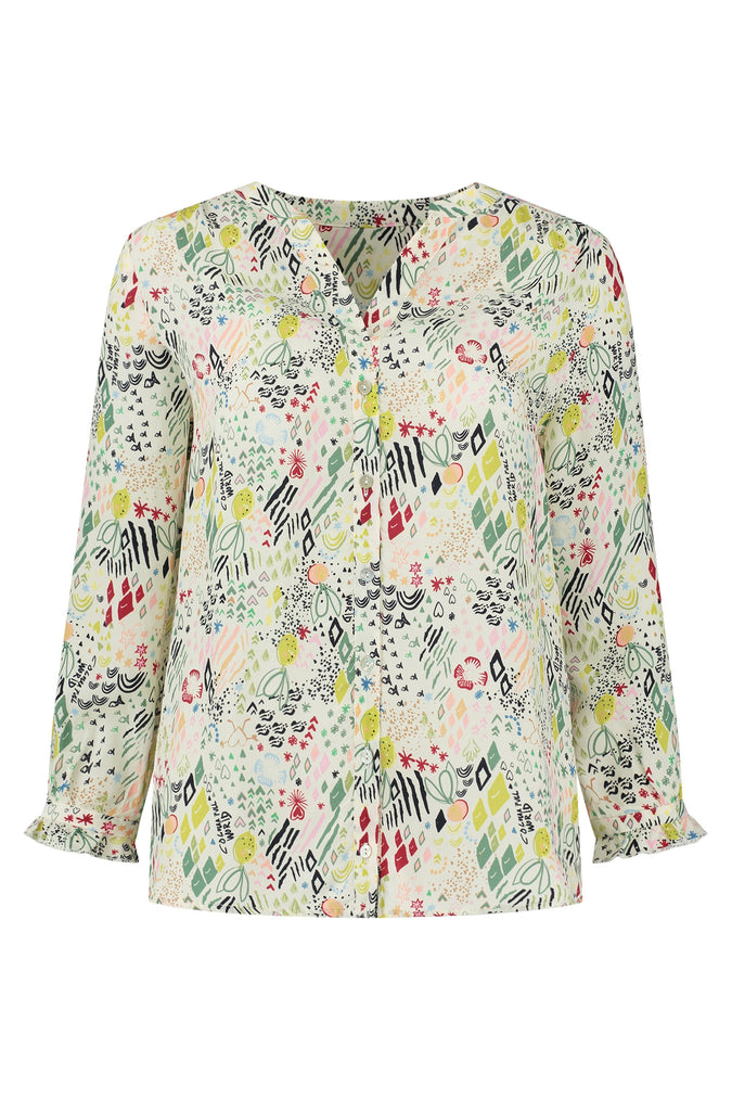 BLOUSE - Nature's Hug Multi