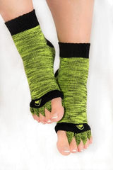 Toe Alignment Socks: open toe design allows for easy grounding & relief!
