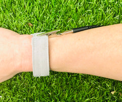 Soft Fabric Stainless Steel Grounding Wrist & Ankle Band