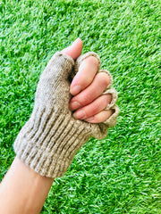 Wool Fingerless Gloves: Stay Warm While Connecting To The Earth