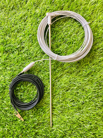 Grounding Stake -- connect directly with the earth outdoors