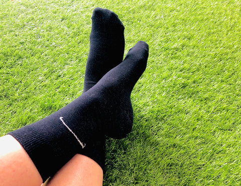 Conductive Socks: Dress Crew Grounding Sock