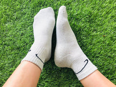 Conductive Socks: Athletic Crew Grounding Sock