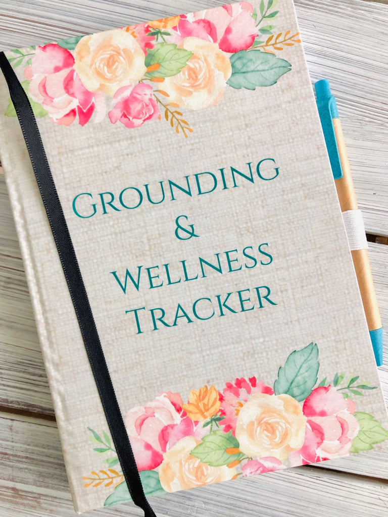 Grounding & Wellness Journal: Harcover, Sewn Keepsake Book