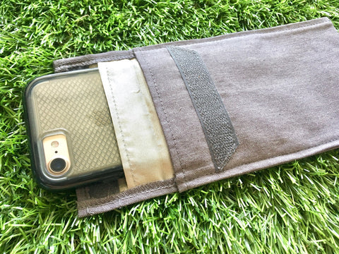 Grounding & Shielding Phone Case: ground and shield, all in one!