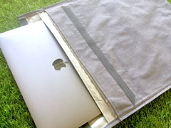 Shielding Laptop Case: shield yourself during transit and use!