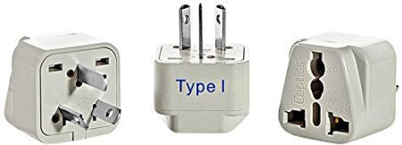 International Outlet Adapter -- Universal Grounding