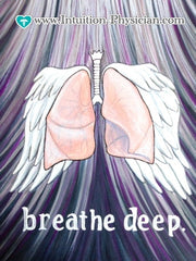 Breathe Deep -- Lung Anatomy original artwork