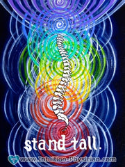 Stand Tall -- Chakra Anatomy original artwork