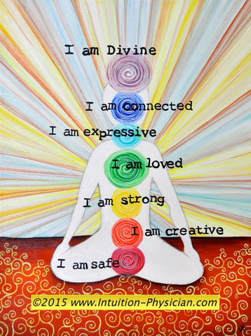 Chakra Healing Class: July 9 - Aug 24, 2018