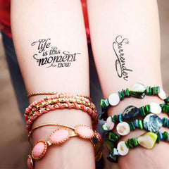 Healing Temporary Tattoos: Holding A Healing Intention