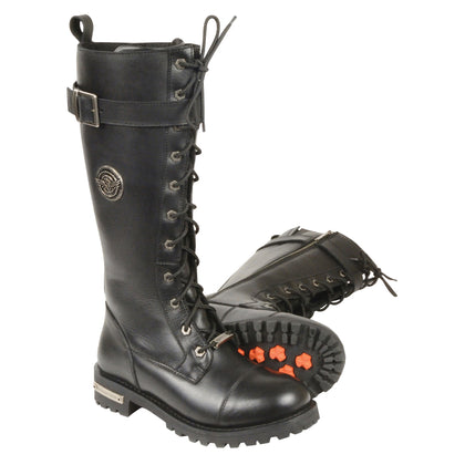 motorcycle riding boots , long boots for motorcycle riding