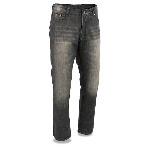 Men's Armored Denim Jeans Reinforced w/ Aramid® by DuPont™ Fibers pants - leather-products-shop