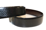 snake pattern dressing leather belt - leather-products-shop