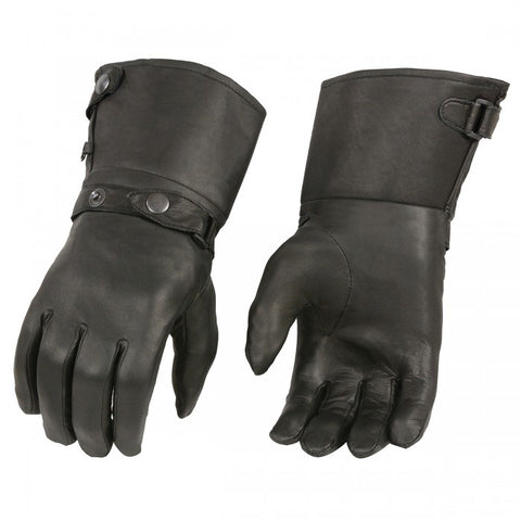 Gauntlet gloves - leather-products-shop