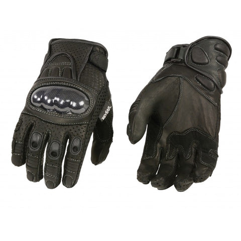 Short racing gloves - leather-products-shop