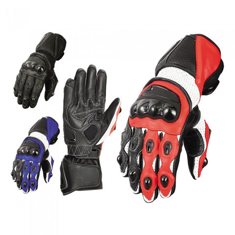 Summer racing gloves - leather-products-shop