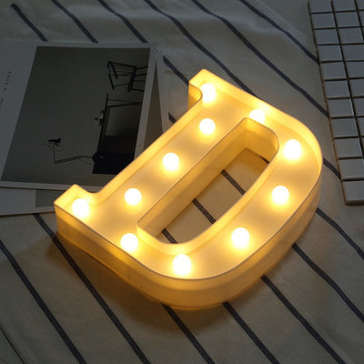 Alphabet Light-up Letters Decoration Sign | SafeLED™️ - shopWaltDisney.com