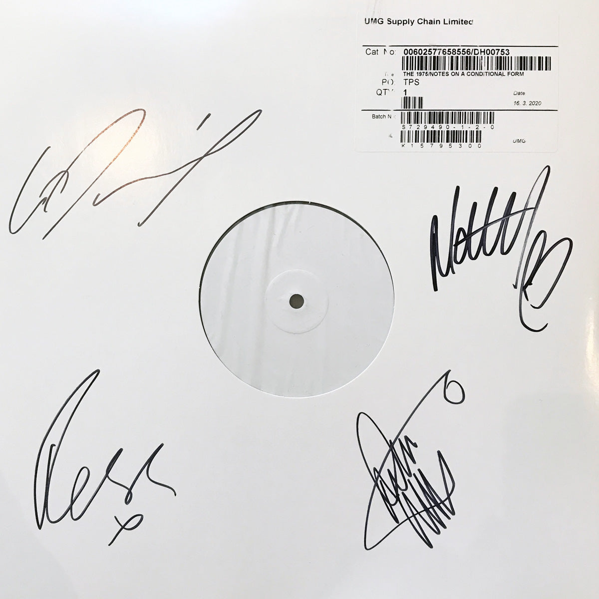Win - A 1975 Test Pressing
