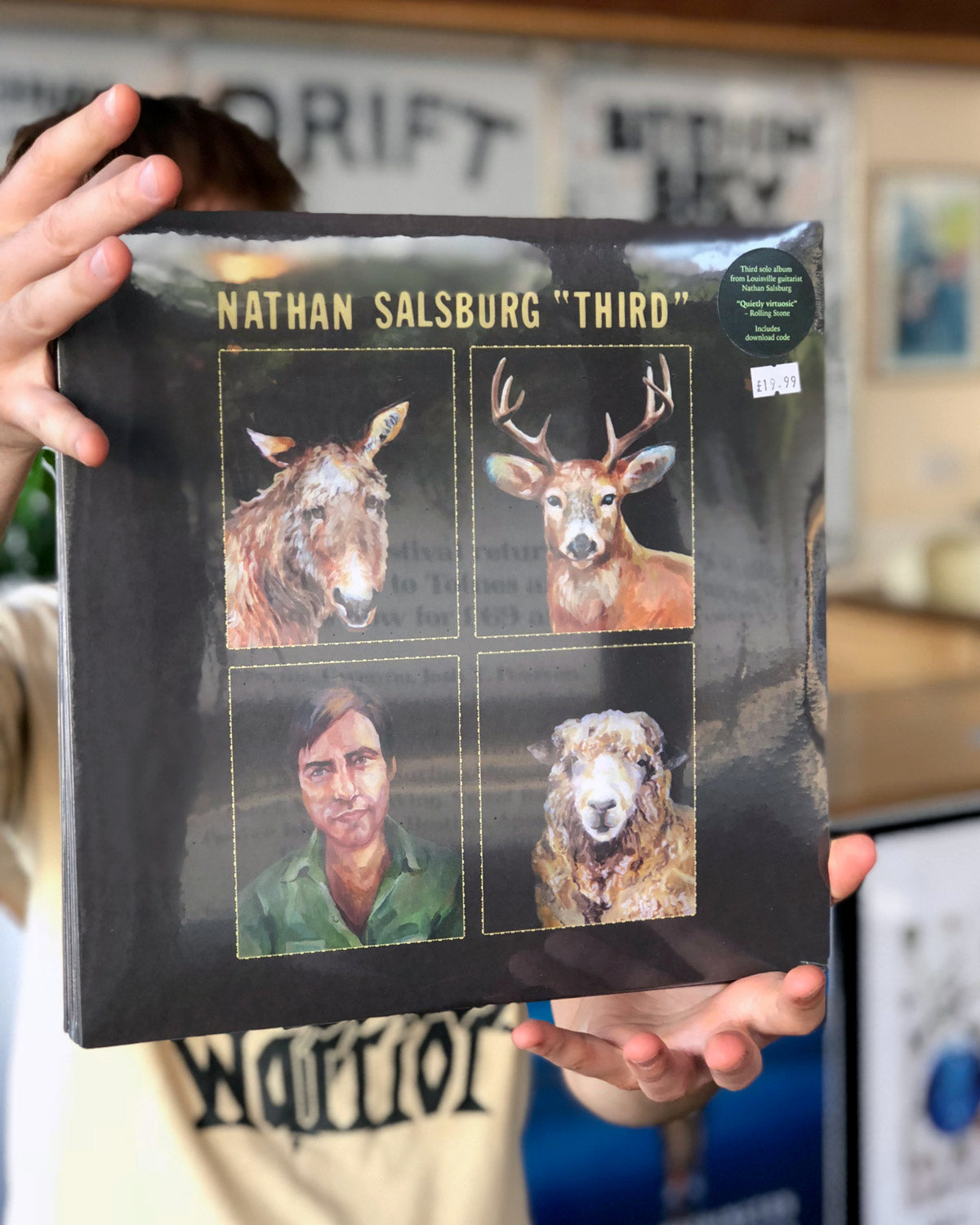 ROTW: Nathan Salsburg, Ty Segall & White Fence, Negative Scanner, Pram, Black Lodge and more.