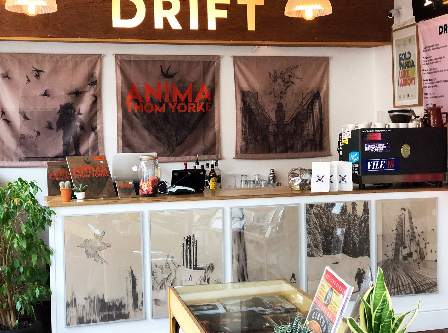 ANIMA Drift Record Shop Take Over