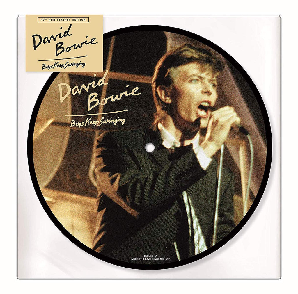 "David Bowie - Boys Keep Swinging [40th Anniversary Picture 7""]"