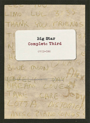 Big Star - Complete Third - Drift Records