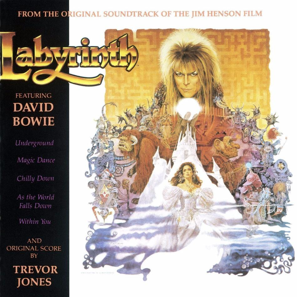 David Bowie and Trevor Jones - Labyrinth - Drift Records