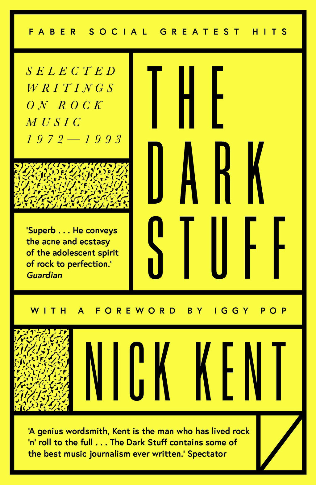 Nick Kent - The Dark Stuff [Faber Social Greatest Hits]