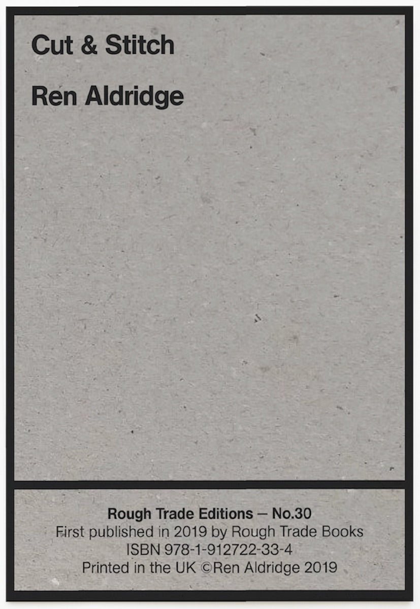 Ren Aldridge - Cut and Stitch