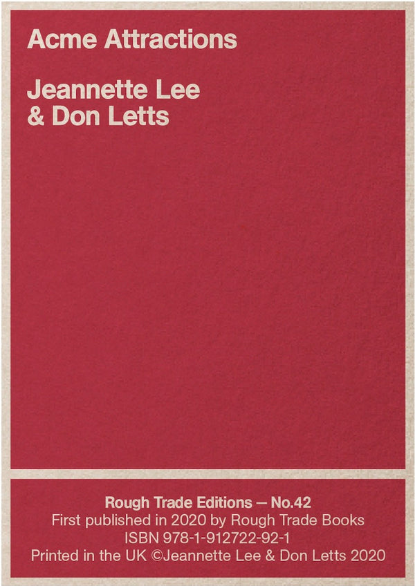 Jeannette Lee & Don Letts - Acme Attractions