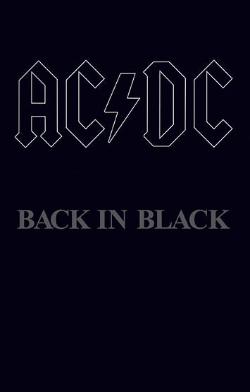 AC/DC - Back In Black - Drift Records