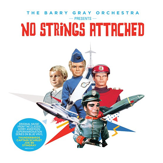 Barry Gray Orchestra - No Strings Attached: TV themes - Drift Records