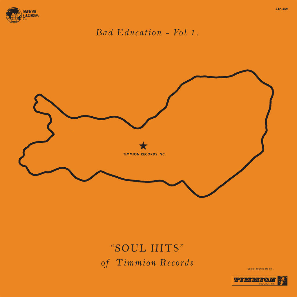 "Various Artists - Bad Education, Vol. 1: ""Soul Hits"" of Timmion Records"