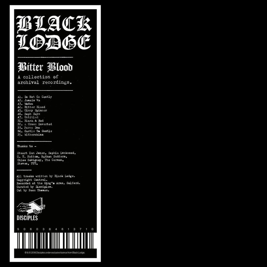 Black Lodge - Bitter Blood