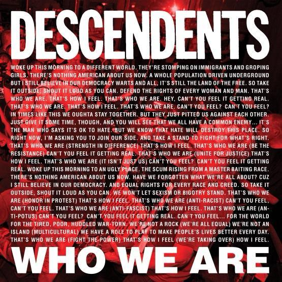 Descendents - Who We Are - Drift Records