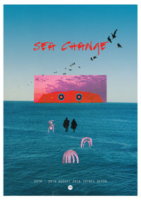 Helena Lyons - Sea Change 2018 Poster