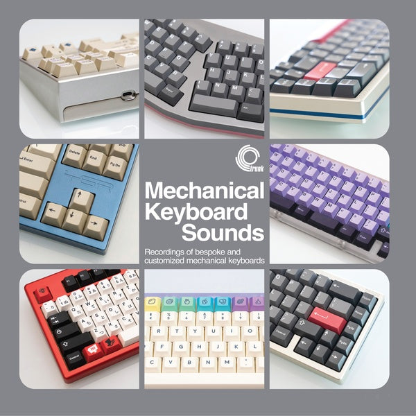 Taeha Types - Mechanical Keyboard Sounds: Recordings of bespoke and customised mechanical keyboards