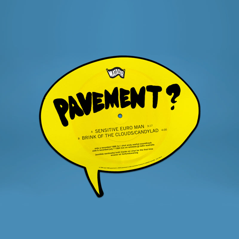 Pavement - Sensitive Euro Man Picture Disc