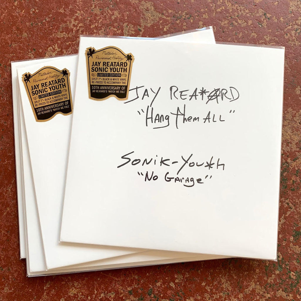 "Jay Reatard / Sonic Youth - Hang Them All / No Garage [Split Colour 7""]"