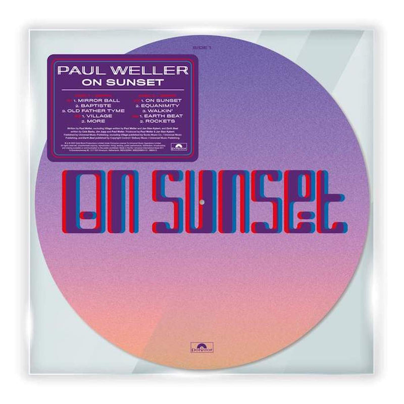 Paul Weller - On Sunset [Picture Disc]