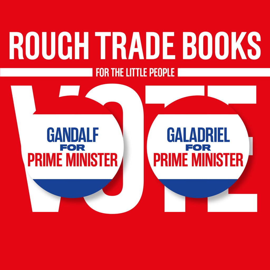 Rough Trade Books - Political Badges