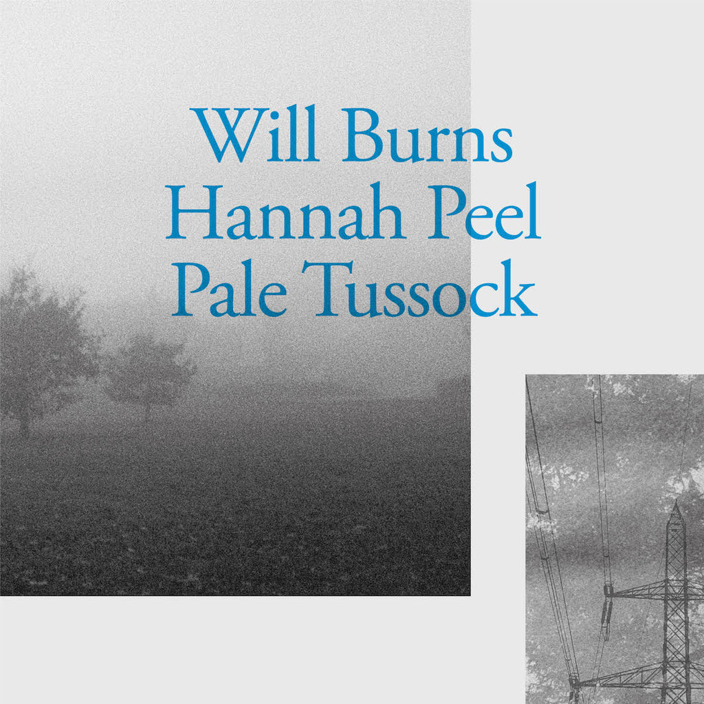 "Will Burns and Hannah Peel - Pale Tussock [7""]"