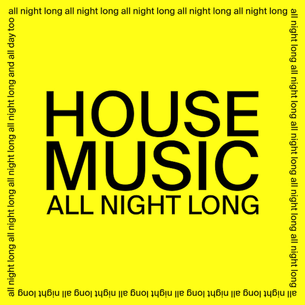 "JARV IS... - House Music All Night Long [12""]"
